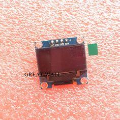 "1 cái 4pin 0.96 ""màu trắng 0.96 inch module OLED New 128X64 LCD OLED LED Hiển Thị Module Cho Arduino 0.96"" IIC I2C Giao Tiếp"