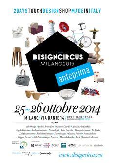 The first date will take place on 25th and 26th October 2014 in the prestigious location of Spazio Dante 14, Via Dante 14 Milano.