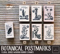 Journaling stamps are great tools to make your mark and express yourself creatively; great for everything from making greeting cards to home décor projects