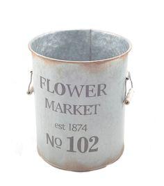 Bloom Room Large Metal Pot