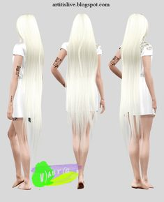 hair ( remesh&retext ) Alesso Galactic | V)ART(G