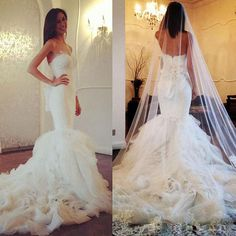 Cheap dresses for older women, Buy Quality dresse directly from China dress like old lady Suppliers: Mermaid Wedding Dress 2015 Free Shipping Vestido de Noiva Sexy Wedding Gowns Luxury Wedding DressesPhoto Show:If y