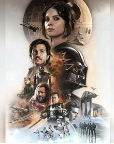 Affiche alternative du film Rogue One : A Star Wars Story (Gareth Edwards (II)) de Steve Anderson Film Star Wars, Theme Star Wars, Star Wars Fan Art, Star Wars Poster, Star Wars Pictures, Star Wars Images, Meninas Star Wars, Rogue One Poster, Rogue One Star Wars