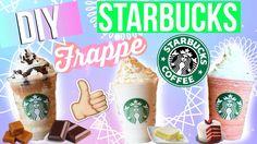 DIY Starbucks Frappuccino!