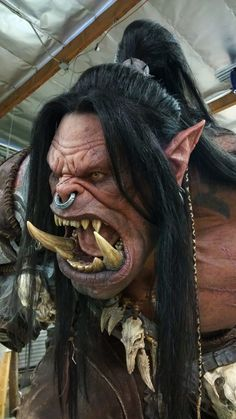 m Orc Warrior portrait Grom Hellscream, Grommash Hellscream, Orc Warrior, Fantasy Warrior, Fantasy Art, Warcraft Art, World Of Warcraft, Character Art, Character Design