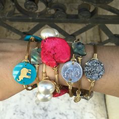 Brand new Bourbon and Boweties bangles available on our website with FREE Shipping!