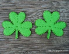 Cute St Patrick's Day Sewing and Embroidery Projects