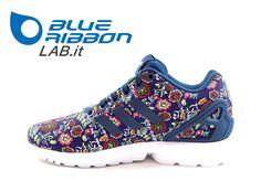 Adidas Zx Flux W Adidas Originals Zx Flux, Adidas Zx Flux, Sport, Sneakers, Blue, Fashion, Tennis, Moda, Deporte
