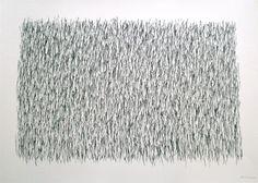 herman de vries   untitled (black), 2012   color pencil on paper   61 x 86 cm   Courtesy Art Affairs