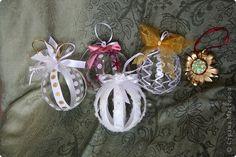Master Class Designer: bolas de Natal fora de garrafas de plástico, garrafas de plástico, o Ano Novo.  Foto 2