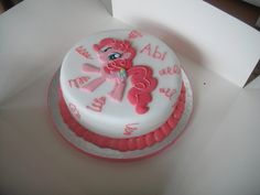 my little pony cakes pictures | Pinkie Pie Cake My little pony by ~DwntheRabbitHole on deviantART