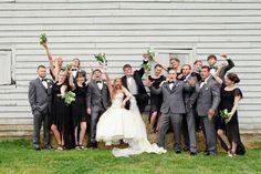 Fun Wedding Party Photos PHOTO SOURCE • THE GIRL TYLER