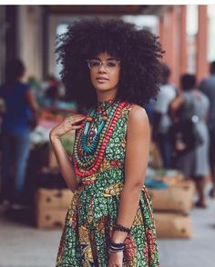 big hair, natural hair, and black women image