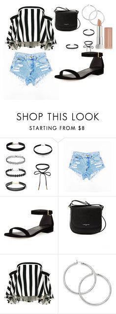 """""""chillin' for summer"""" by celineabrillyan on Polyvore featuring Stuart Weitzman, Lancaster, Milly and Maybelline"""