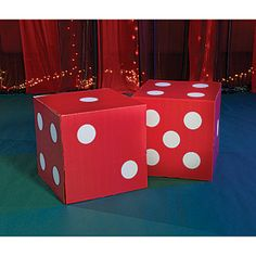 large dice from boxes wrapping paper i 39 d place the seams on the tops bottoms where they. Black Bedroom Furniture Sets. Home Design Ideas