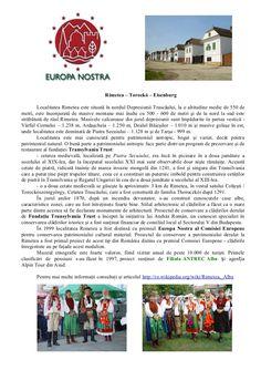 europa-nostra by ANTREC Alba Branch via Slideshare