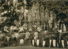 Jesuit Order's Bohemian Grove Worshippers of Satan, 1927 (freaks me out to even post it)