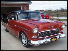 1955 Chevrolet Bel Air 2-Door Hardtop  350 CI, 4-Speed