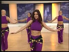 ▶ Veena & Neena Belly Dance Fitness For Weight Loss Bellydance Boogie - YouTube