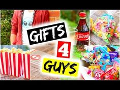 DIY Gifts For Guys! DIY Gift Ideas for Christmas Father, Boyfriend, Dad, Brother - YouTube