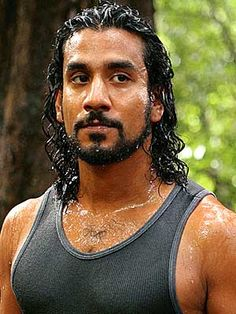 "Naveen Andrews as Sayid Jarrah from ABC's ""Lost"""