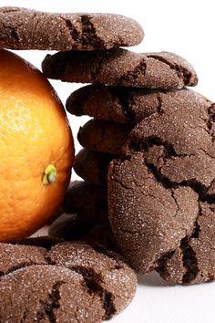Orange Chocolate Brownie Cookies