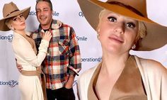 Lady Gaga and Taylor Kinney inspired by the Wild West at Operation Smile charity event | Daily Mail Online