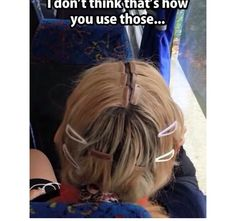 Funny pictures about Lazy Girl Using Hair Extensions. Oh, and cool pics about Lazy Girl Using Hair Extensions. Also, Lazy Girl Using Hair Extensions photos. Bad Hair Extensions, Hair Fails, Bizarre, Seriously Funny, Bad Hair Day, Hair Humor, Funny Photos, Make Me Smile, Hair