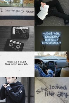 """fave character aesthetics Park Sheridan - Eleanor and Park by Rainbow Rowell """"What are the chances you'd ever meet someone like that? All The Bright Places, Life Moves Pretty Fast, Eleanor And Park, Rainbow Rowell, Gray Aesthetic, Quotes And Notes, Book Fandoms, Bibliophile, Greys Anatomy"""