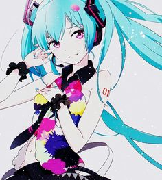 Tell your world - Hatsune Miku #vocaloid