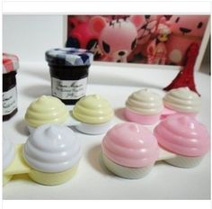 1piece Cool Cute Ice Cream Shape Contact Lenses Case Box  $1.99