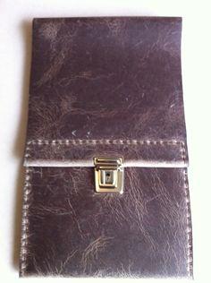 Extra long slimline leather pencil case £19.49