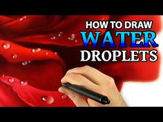Step by step instructions describe how to paint water droplets using Corel Painter 2015 digital painting software and a graphics tablet. This illustration wa...