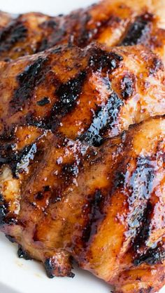 Sticky Honey Lime Grilled Chicken