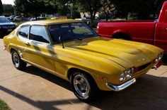 Learn more about Unusually Nice Build: 1974 Mercury Capri on Bring a Trailer, the home of the best vintage and classic cars online. Us Cars, Sport Cars, Mercury Capri, Ford Sierra, Ford Capri, Old School Cars, Old Fords, Ford Escort, Classic Cars Online