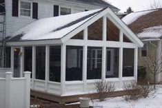 Three Seasons Room traditional porch