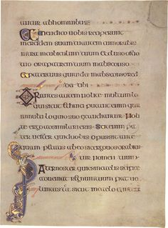 Uncial calligraphy, Book of Kells - our font was based on a similar text, even though it wasn't made into metal type until the 1950s