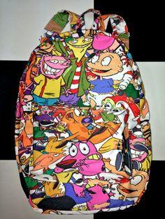 SWEET LORD O'MIGHTY! 90'z Cartoon Backpack