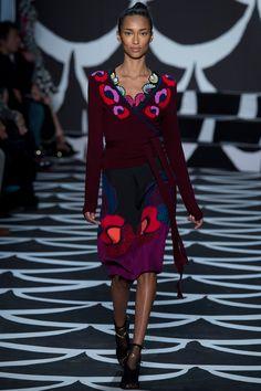 Diane von Furstenberg Fall 2014 RTW - Runway Photos - Fashion Week - Runway, Fashion Shows and Collections - Vogue
