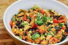 Southwestern Grilled Sweet Potato Salad - http://detox-foods.co.uk/southwestern-grilled-sweet-potato-salad/