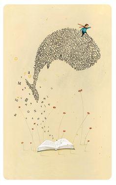 baleia de palavras
