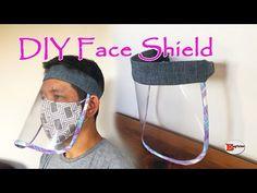 HOW TO MAKE FACE SHIELD MASK | DIY FACE SHIELD MASK | SEWING TUTORIAL - YouTube Sewing Tutorials, Sewing Hacks, Sewing Patterns, Diy Hat, Scrub Hats, Diy Face Mask, Face Masks, Mask For Kids, How To Make