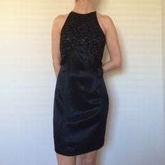 Long black dress size 8 56
