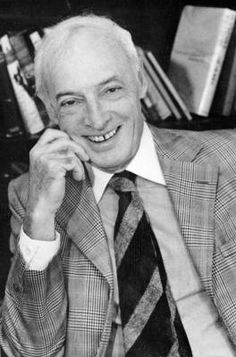 Saul Bellow    (1915-2005). Author. Nobel Prize for Literature, 1976.