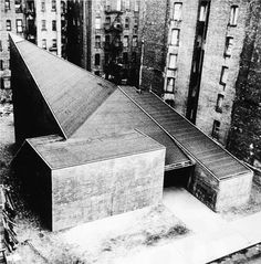 Victor Lundy. Church of the Ressurection. East Harlem, NYC, 1966. Demolished.