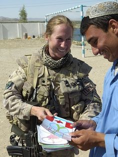 Female Canadian Soldier