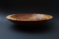 Timber salad/fruit bowl. Handmade with natural oil finish #timber #wooden #unique #handmade #art
