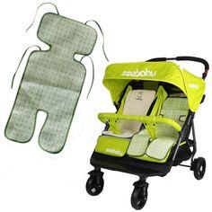 1.85AUD - Summer Sleeping Liner Mat For Baby Stroller Pram Pushchair Trolley Seat Comfy #ebay #Home & Garden