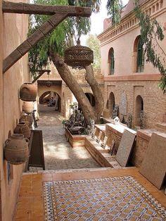 Medina of Agadir, Morocco.