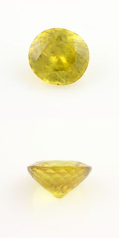 Other Loose Stones 169310: 3.48Ct Loose Sphene Gemstone - Oval/Round Yellow /Orange 9.75Mm X 9.12Mm BUY IT NOW ONLY: $173.99